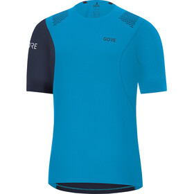 GORE WEAR R7 Fietsshirt Korte Mouwen Heren, dynamic cyan/orbit blue
